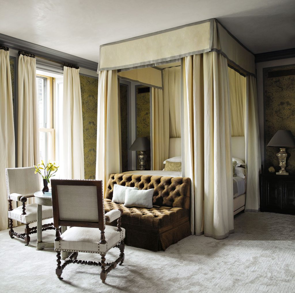 bedroom suite by Steven Gambrel