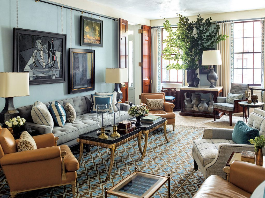 living room by Steven Gambrel