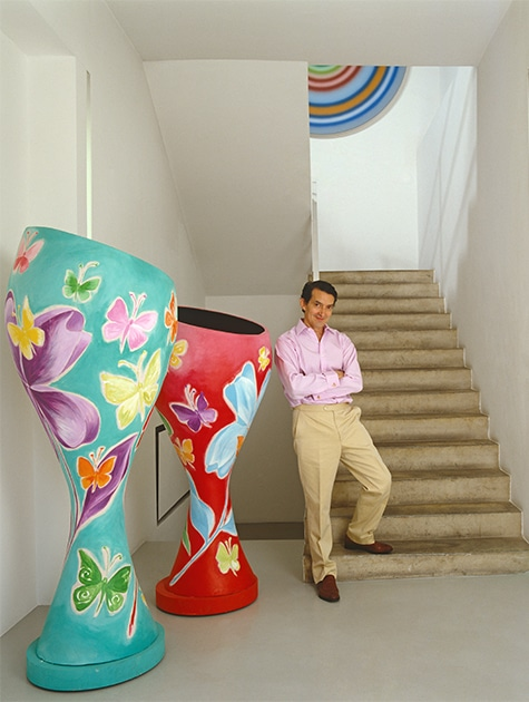 This London Design Dealer's Homes Are As Trailblazing As His Galleries