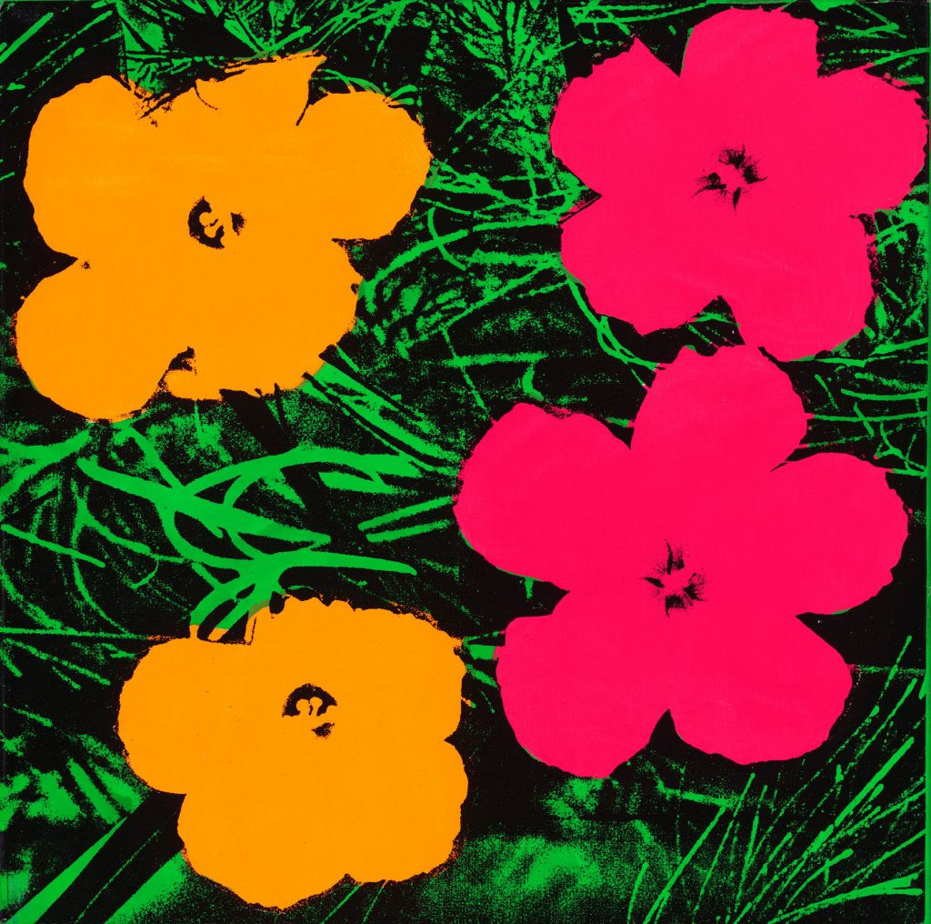 Flowers, 1964, by Andy Warhol