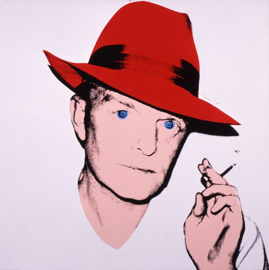 Truman Capote, 1979, by Andy Warhol