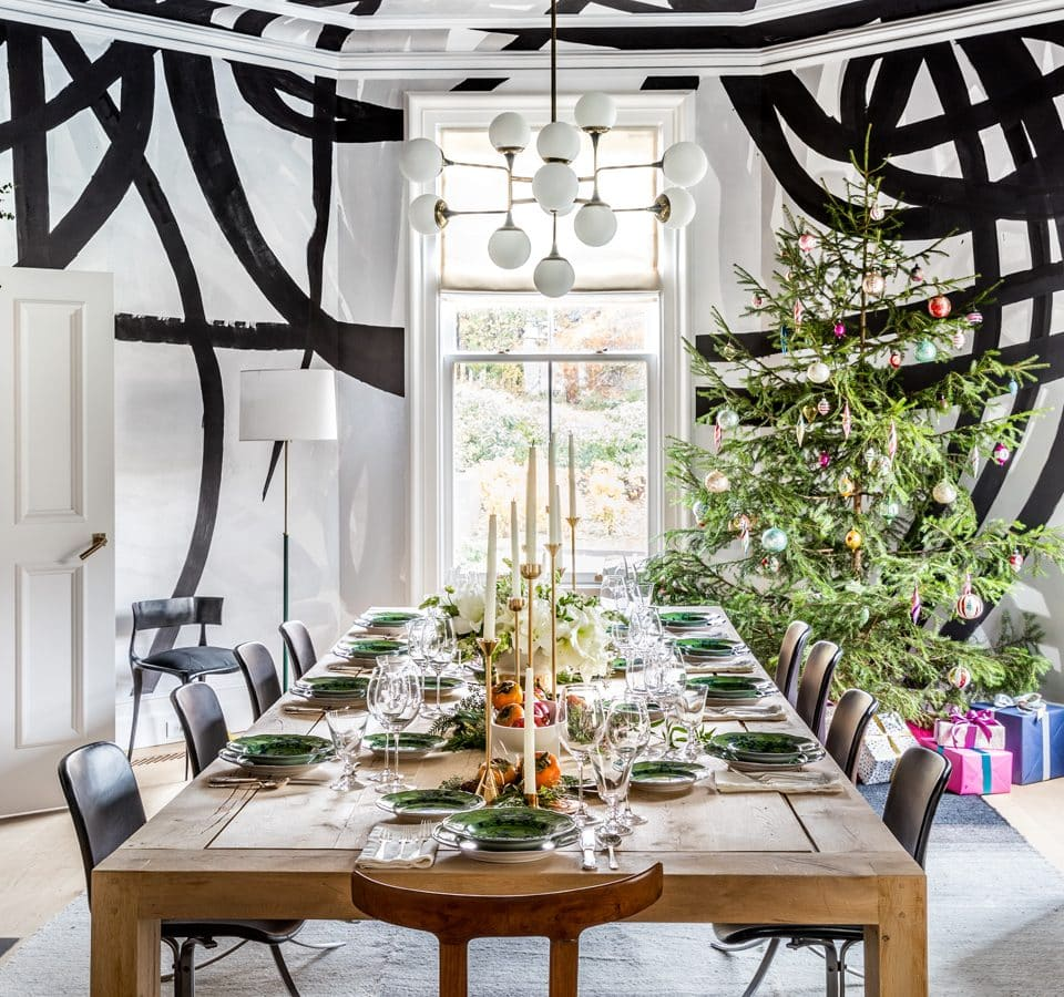 Sara Story Entertains in Her Festive Hudson Valley Home