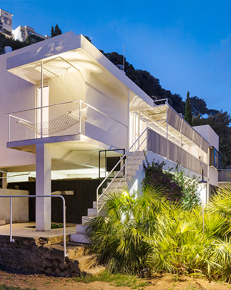 Eileen Gray's Famed Cliffside Villa in the South of France Is Returned to Its Modernist Glory
