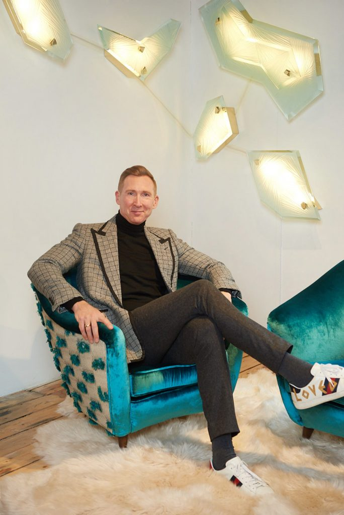 Simon Stewart of Charles Burnand at the 1stdibs Gallery