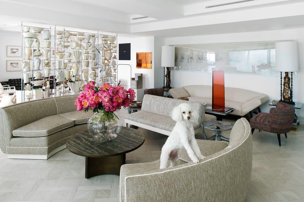 Firooz Zahedi living room