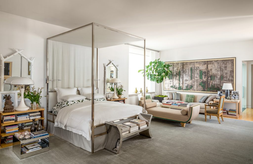 Michael S. Smith's bedroom