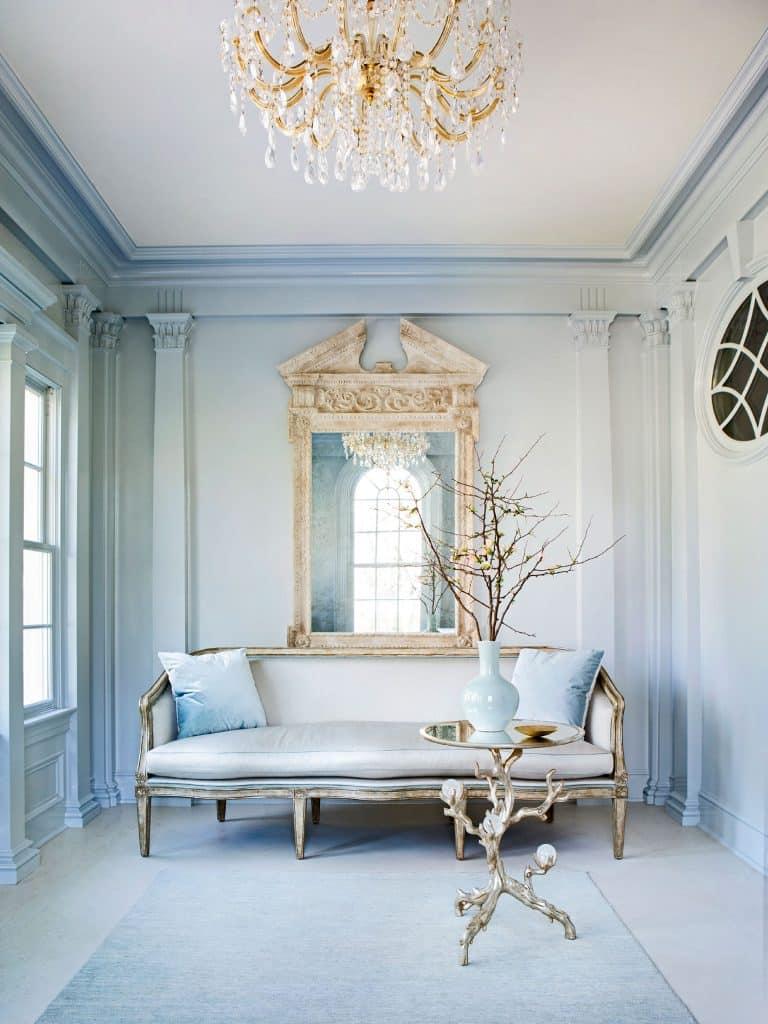 Suzanne Kasler designed sitting room