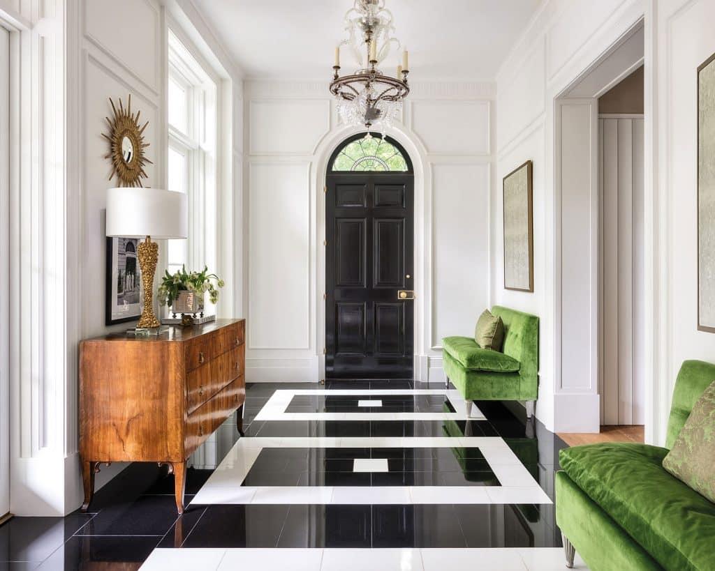 Suzanne Kasler designed entryway