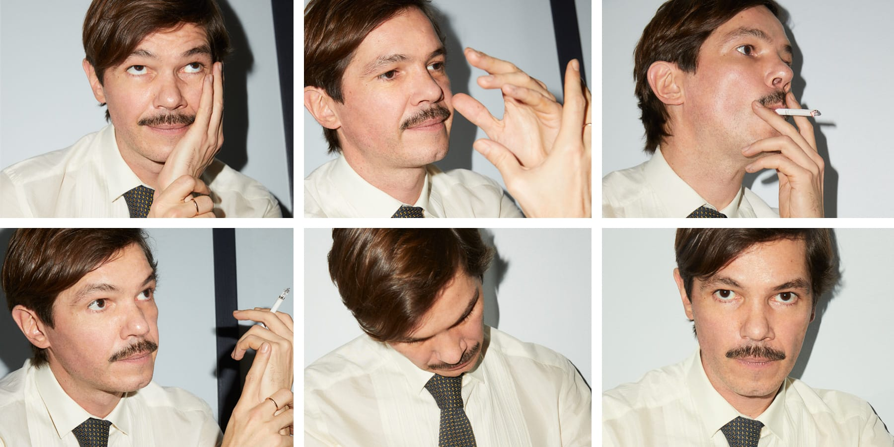Meet The Dapper Mustachioed Parisian Who S Tops In Crafting Enticing Jewels 1stdibs Introspective