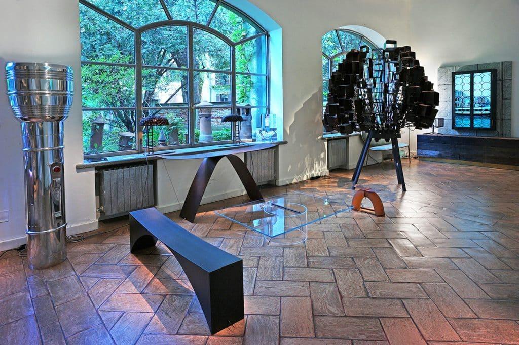 The ground-floor gallery of Galleria Rossana Orlandi