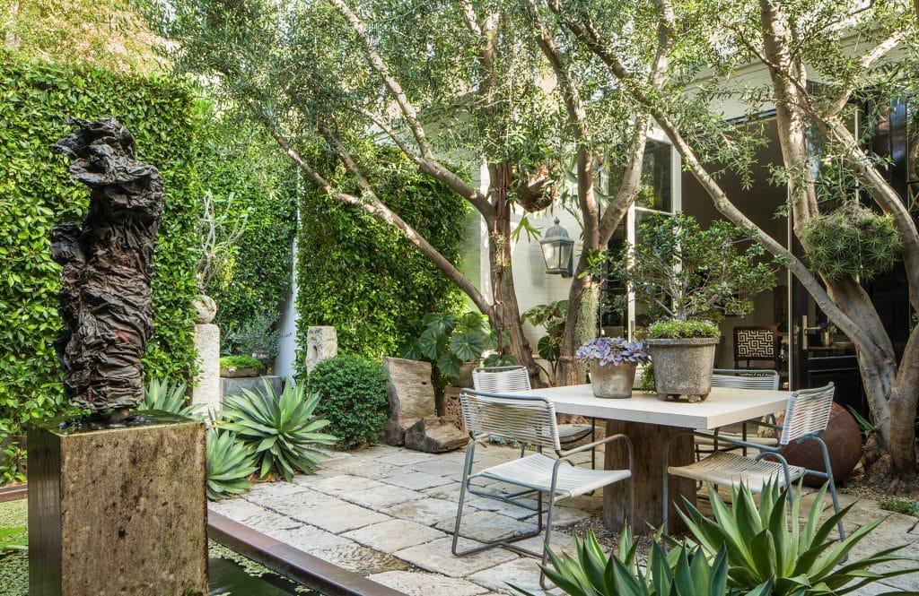 Scott Shrader's garden