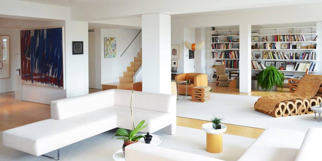 New York living room by Davies Toews Architecture