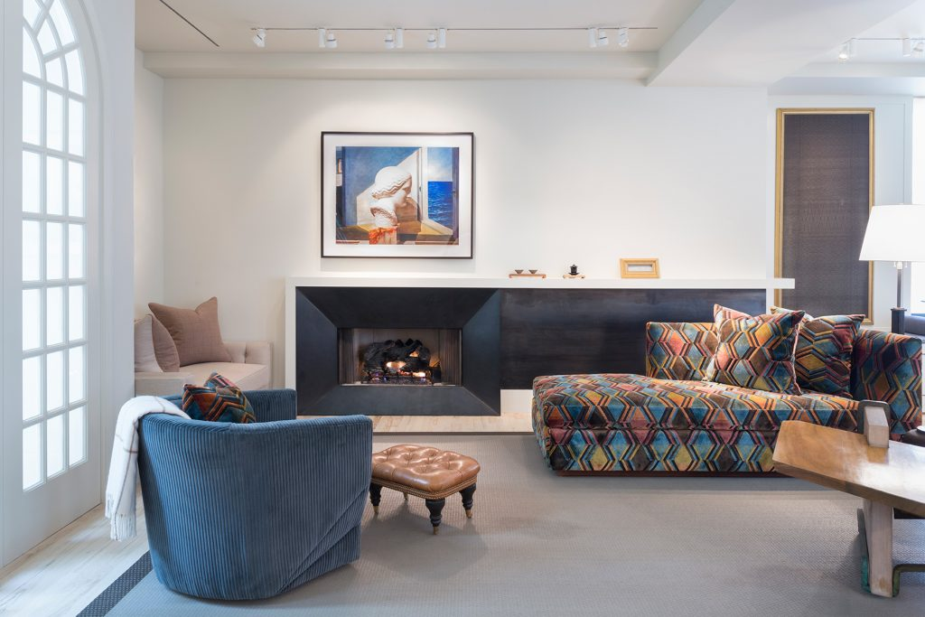 Interior designer Drew McGukin Chelsea New York living room