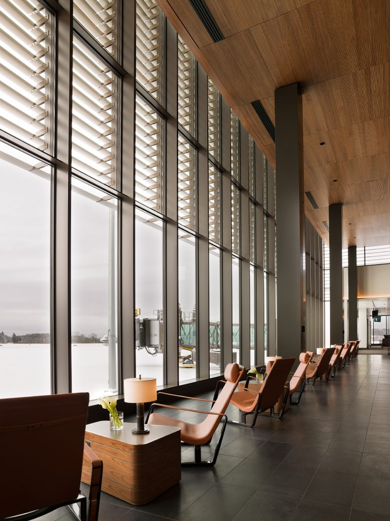 Paine Field seating by Clive Lonstein