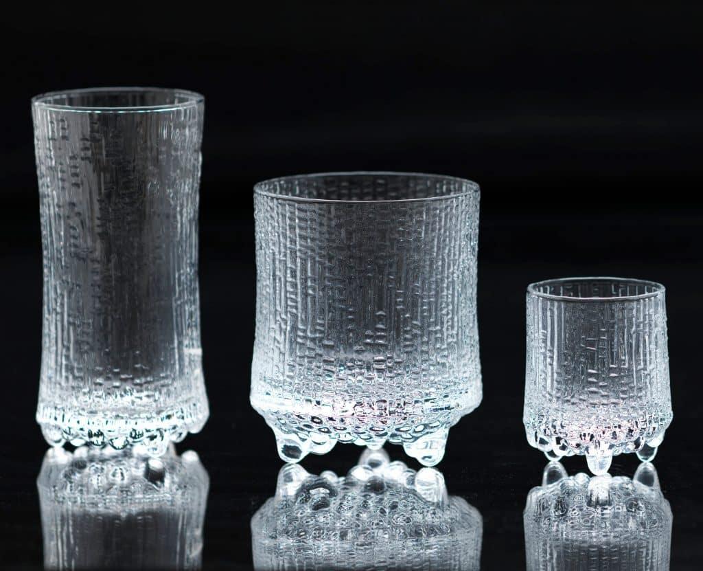 Tapio Wirkkala Ultima Thule Iittala glassware