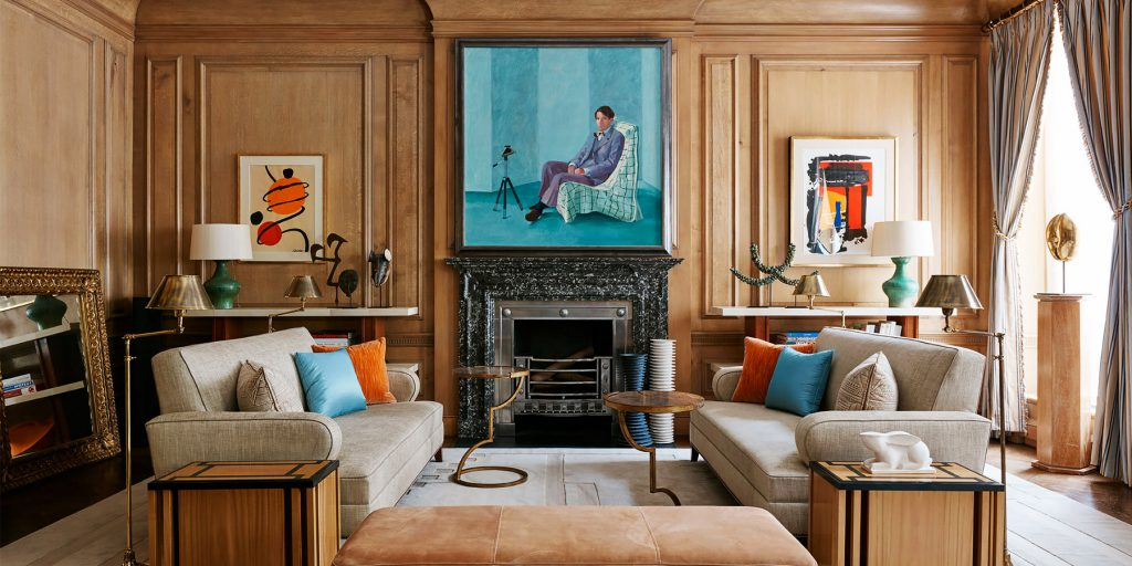 A townhouse on Manhattan's Upper East Side from Hugh Leslie