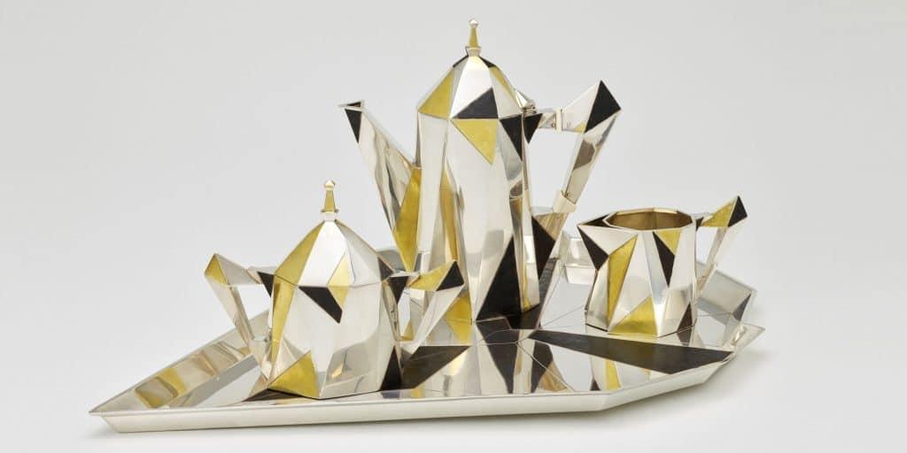 Gorham Silver: Designing Brilliance 1850–1970 Gorham Manufacturing Company Rhode Island School of Design Museum Providence Erik Magnussen coffee service