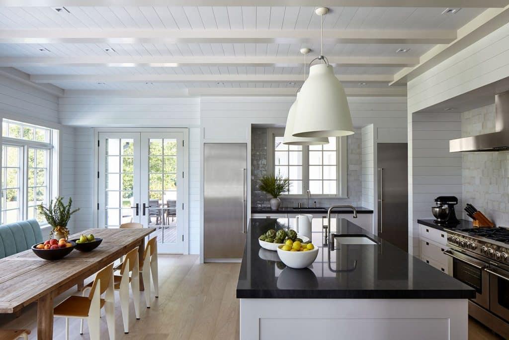 A Bridgehampton kitchen designed by Frampton Co.