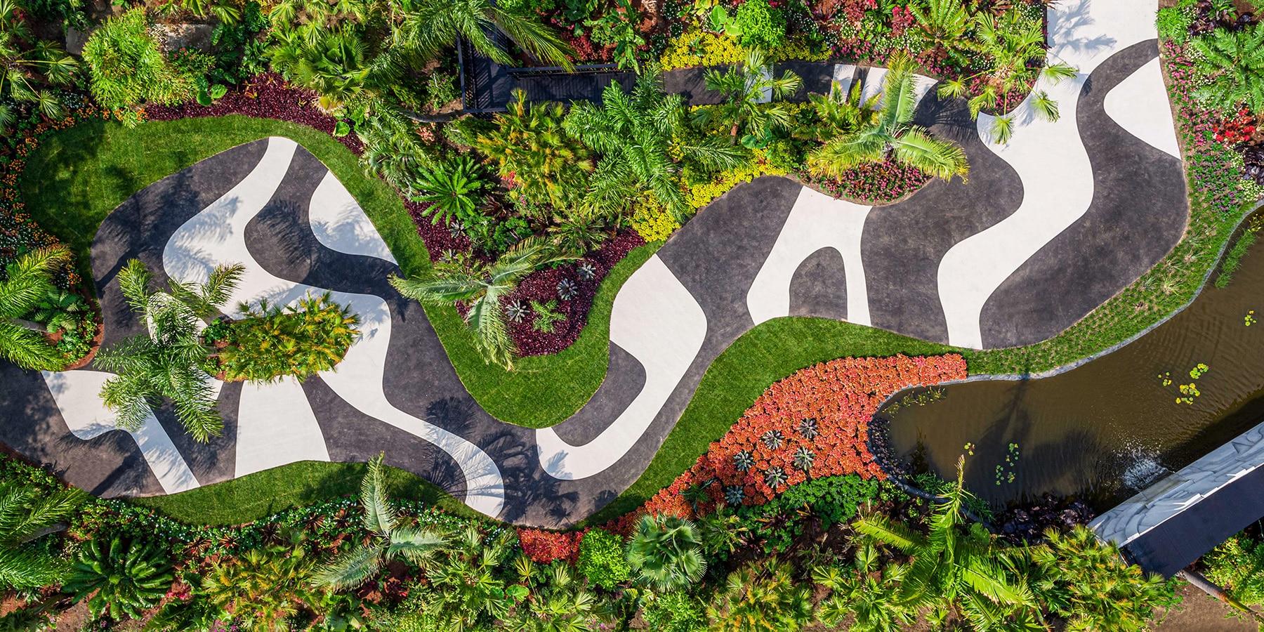 Roberto Burle Marx S Bold Brazilian Landscape Design Comes To New