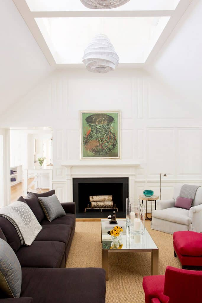Charlotte Barnes Interiors Greenwich Residence Family Room
