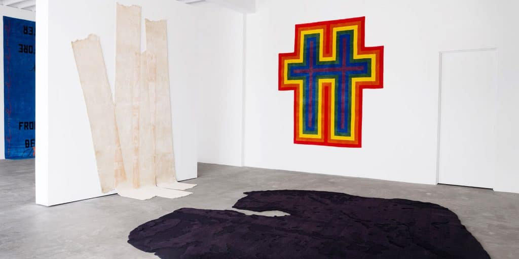 Inside the Henzel Studio Show at LA's THE NEW Gallery
