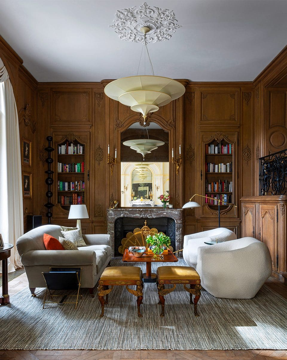 Bryan O'Sullivan Has Revived a Paris Mansion's Old Majesty