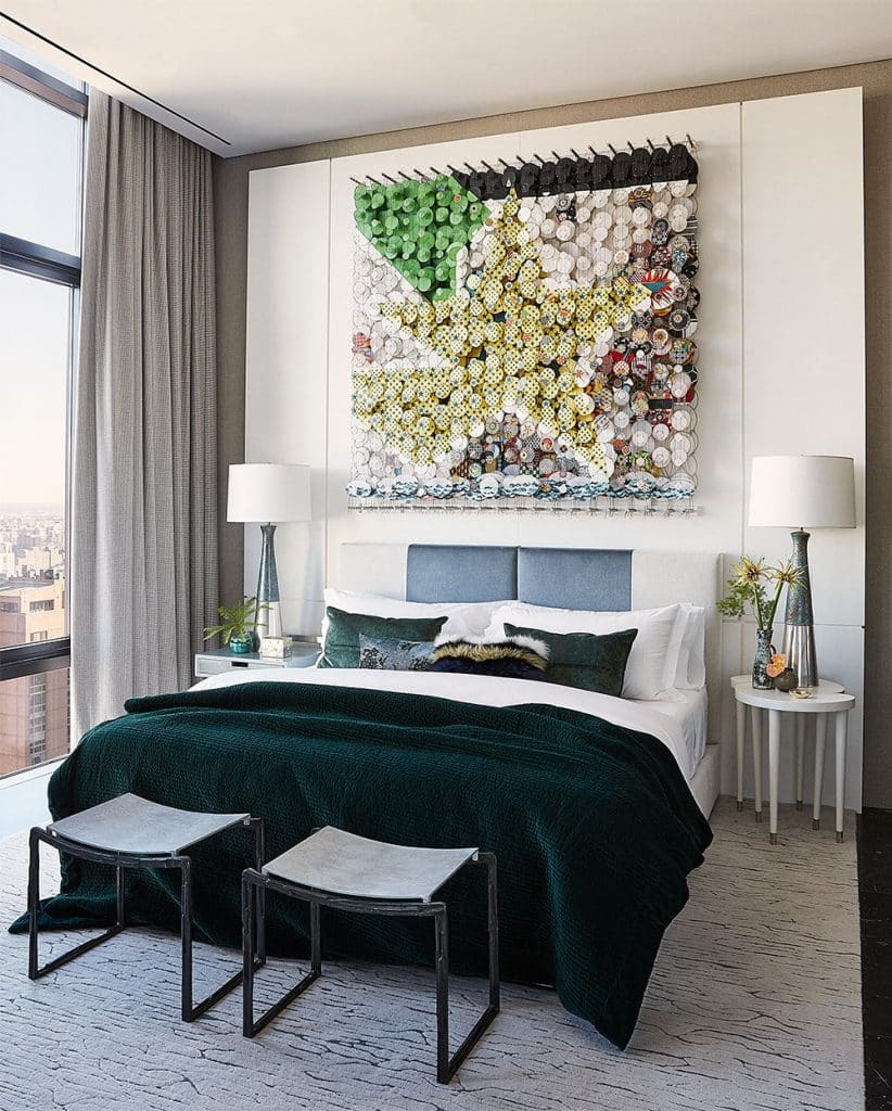 Edward Yedid Thomas Hickey GRADE New York Place 57 Midtown Manhattan penthouse guest room