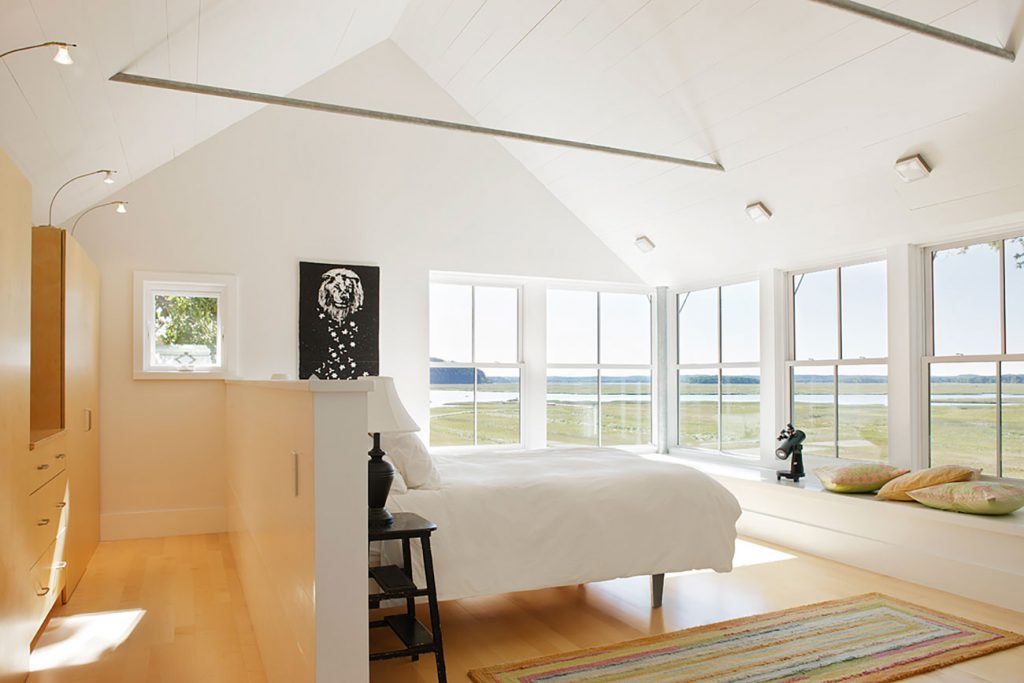 Jim Estes Peter Twombly Estes Twombly architects Ipswich Massachusetts bedroom