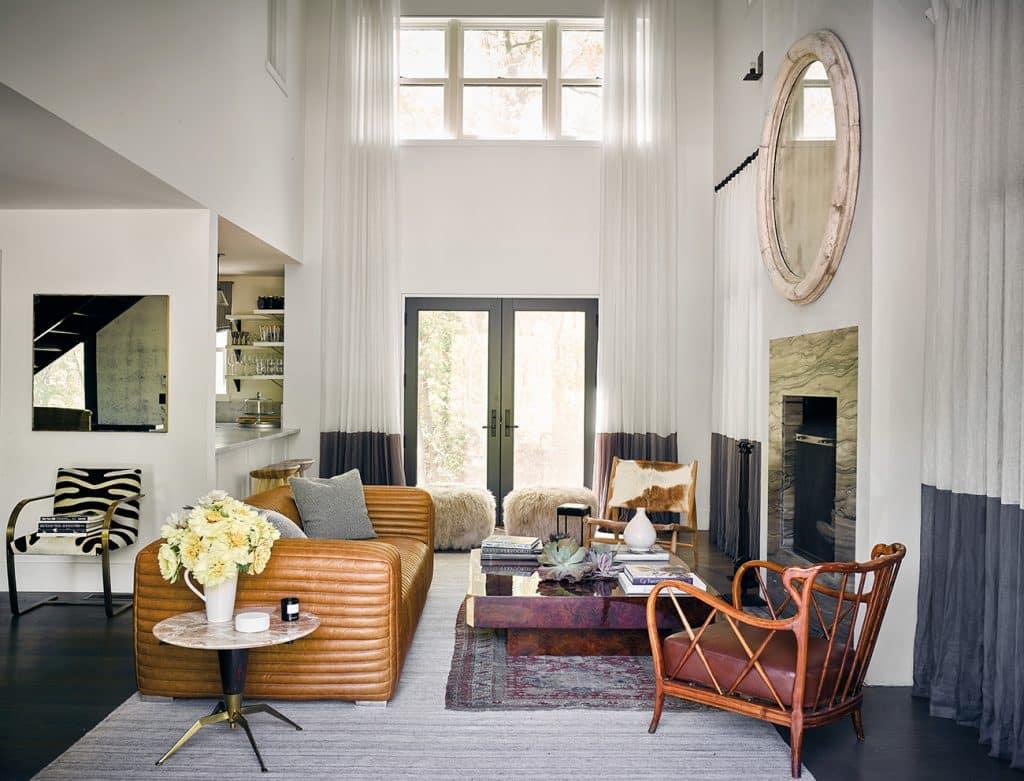 Estee Stanley living room for Ellen Pompeo