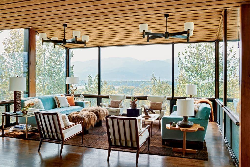 Madeline Stuart Jackson, Wyoming, living room