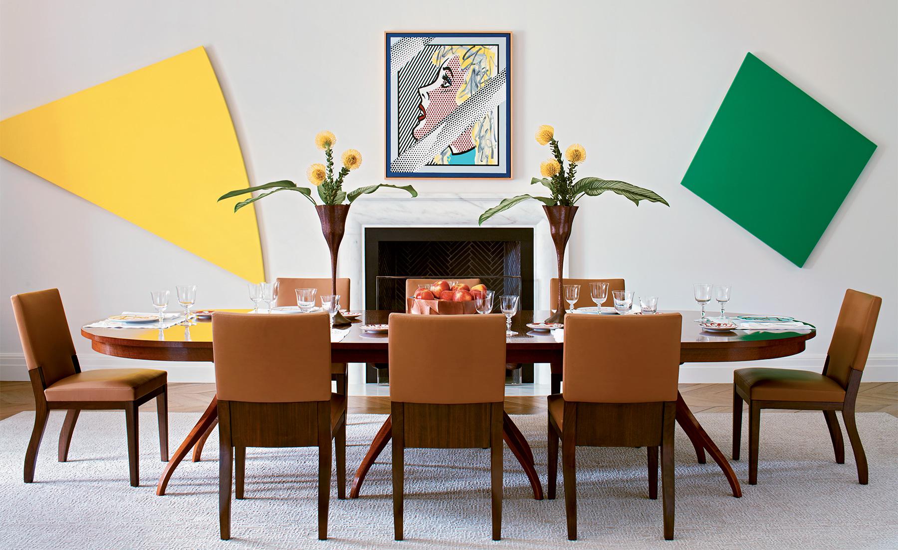 Madeline Stuart dining room