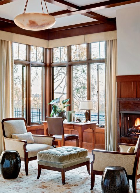 Madeline Stuart Arts and Crafts master bedroom