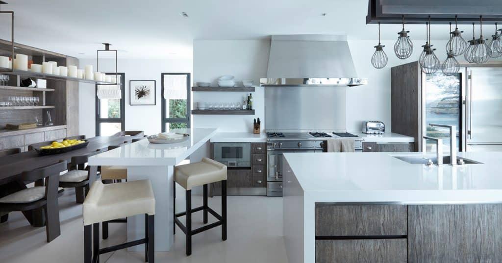 British Designer Fiona Barratt-Campbell Mallorca villa kitchen Elemental book Rizzoli