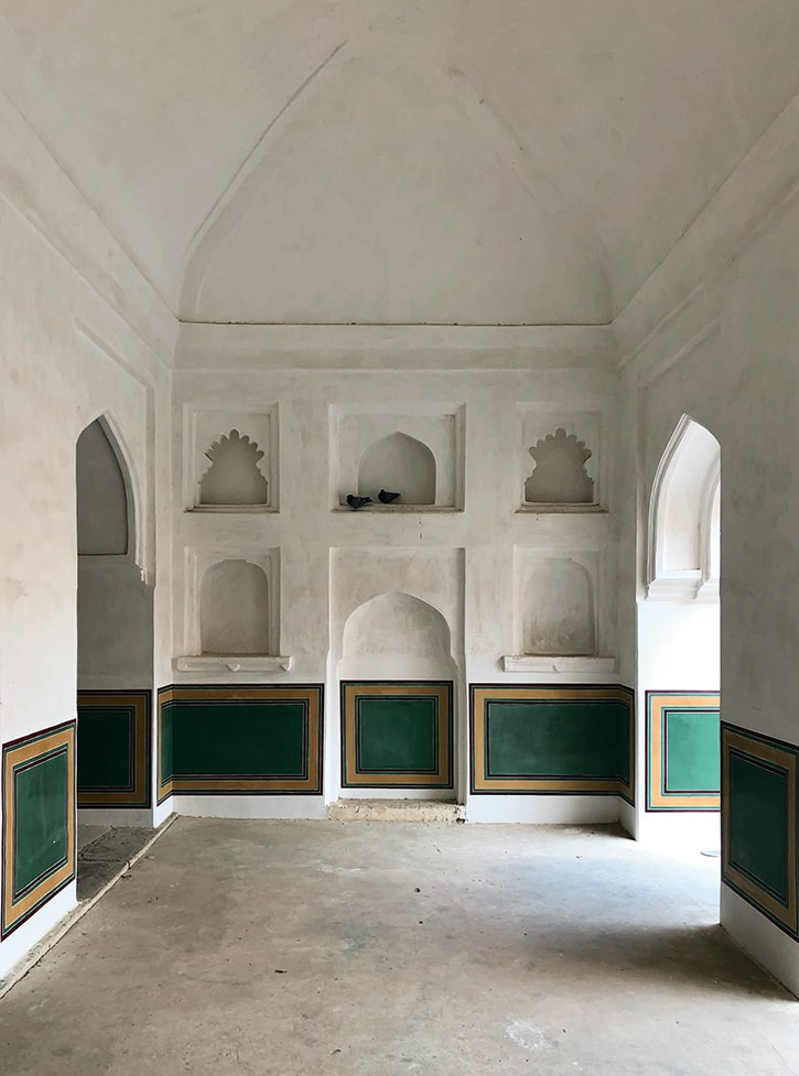 Miguel Flores-Vianna's photo of a room in the Amber Fort, Jaipur, India
