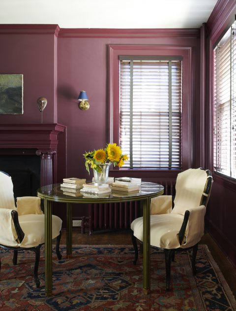 Billy Cotton Vermont office den Regency Collection