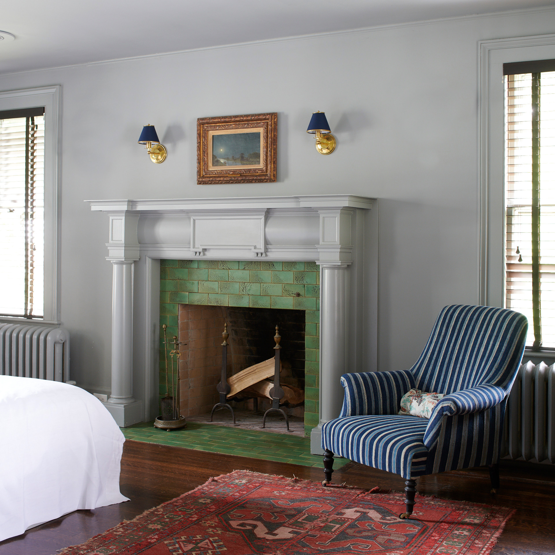 Billy Cotton Vermont master bedroom Regency Collection