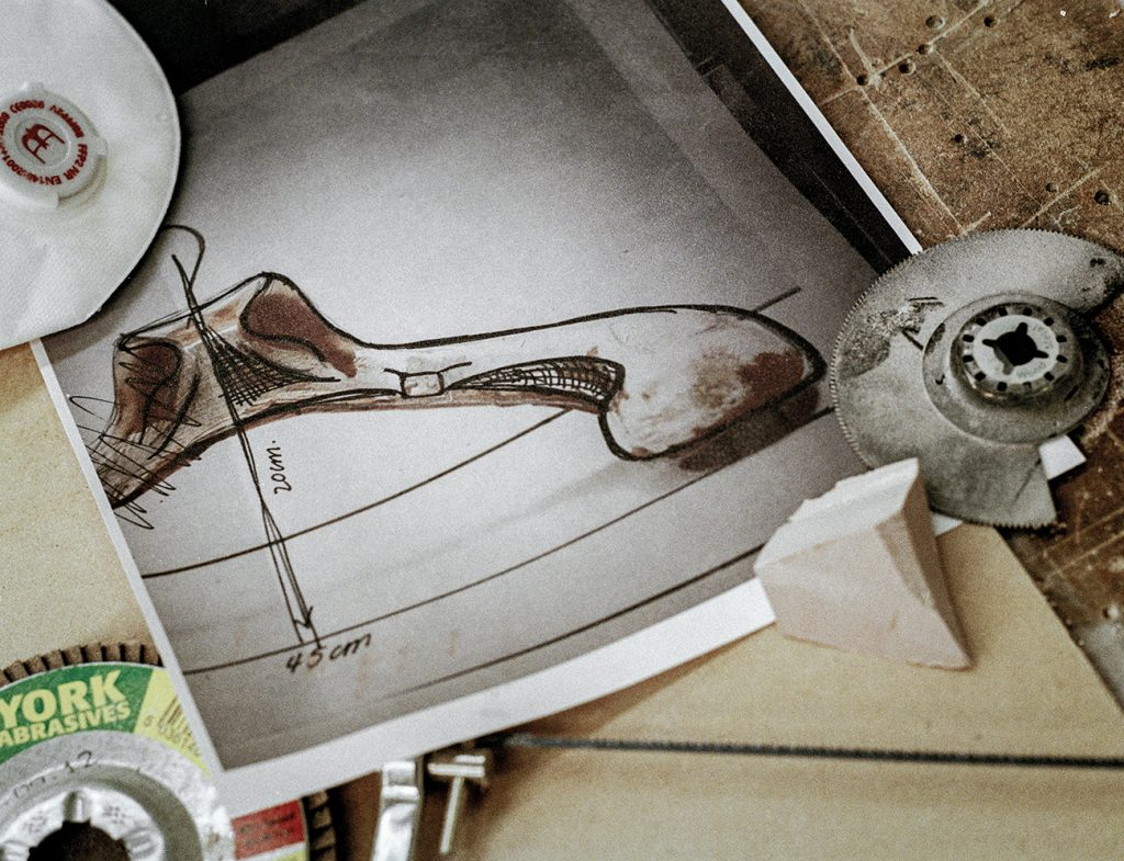British Designer Fiona Barratt-Campbell Elemental book Rizzoli Privé Collection valet process drawing