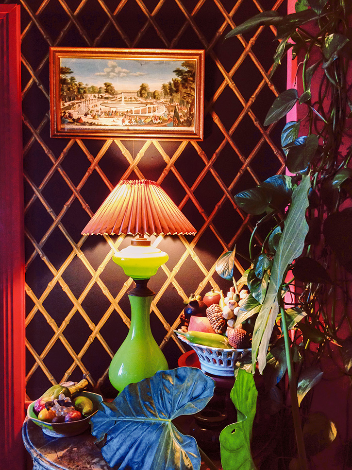 Miguel Flores-Vianna's photo of a room in the apartment of Anthea and Lawrence Mynott, Tangier, Morocco