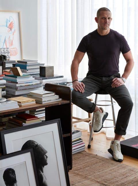 Interior Designer Robert Stilin: Interiors Soho apartment portrait