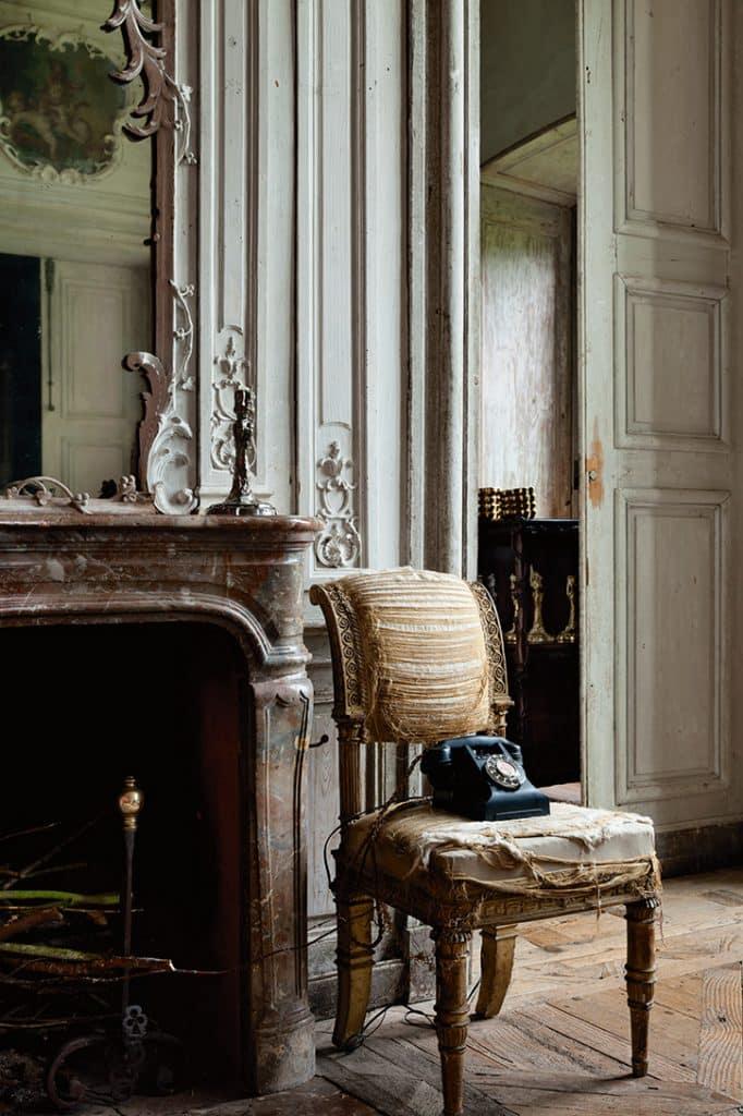 Miguel Flores-Vianna's photo of a room in the Chateau de Montigny, Les Cents-Acres, Normandy, France