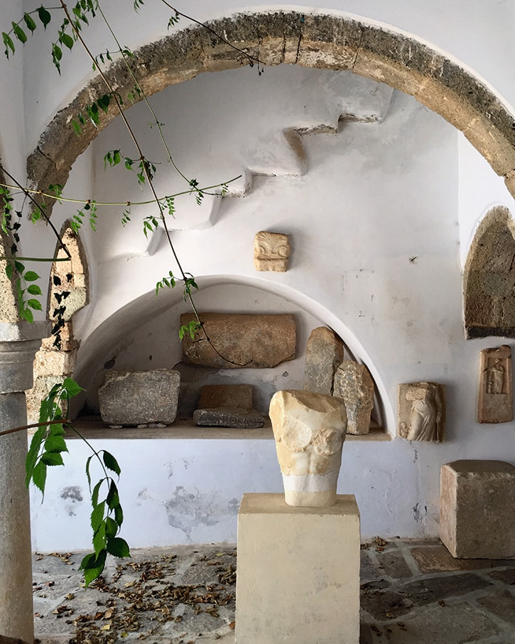 Miguel Flores-Vianna's photo of the Archeological Museum of Chora, Amorgos, Greece