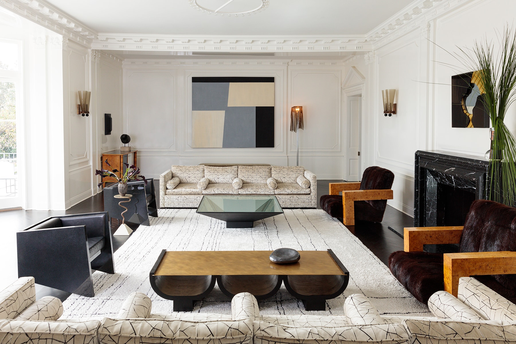 Kelly Wearstler: Evocative Style her own Los Angeles home living room