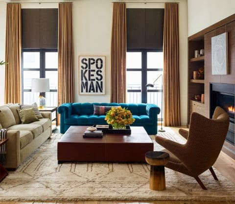 living room New York Neal Beckstedt Carl Dellatore On Style