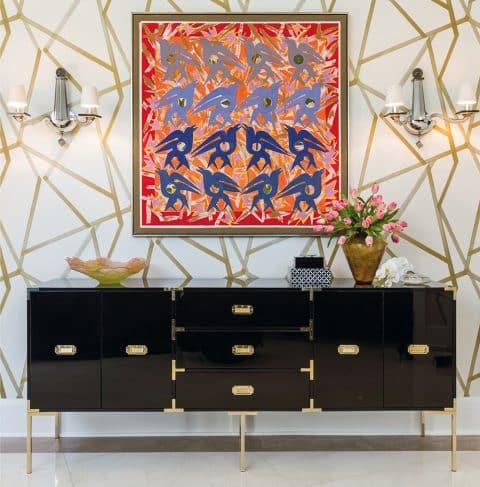 Lucinda Loya Houston foyer On Style Carl Dellatore