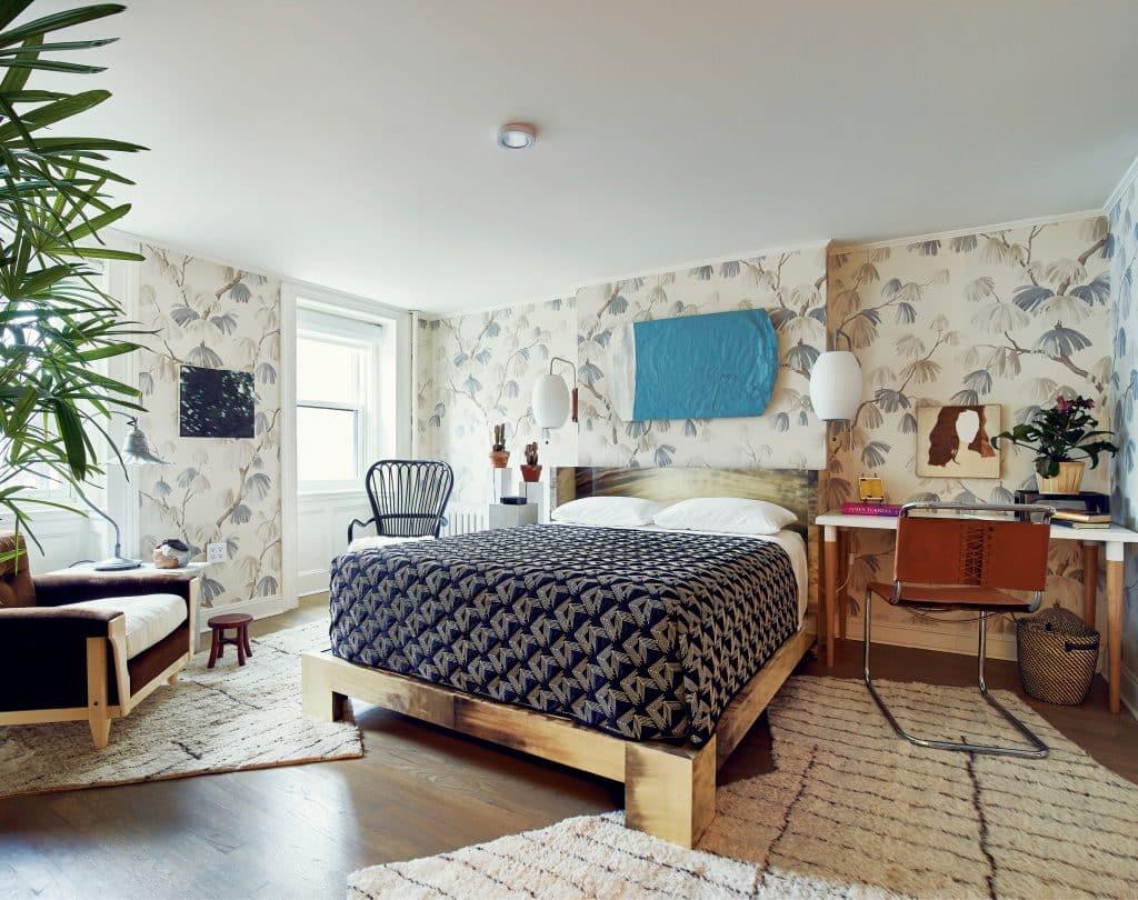 David Kaihoi Miles Redd Brooklyn bedroom On Style Carl Dellatore