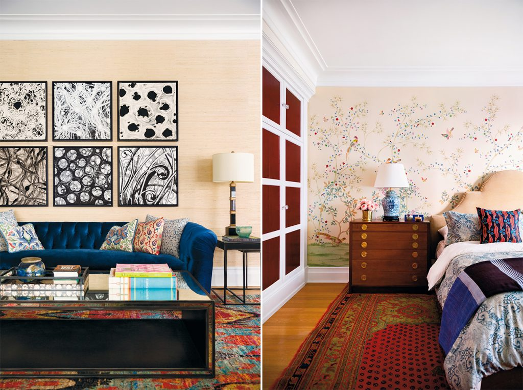 Carl Dellatore On Style Kati Curtis Upper West Side living room bedroom