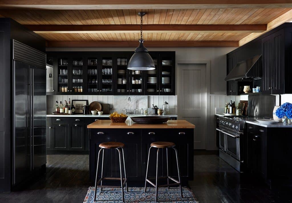 Interior Designer Robert Stilin: Interiors his own Hamptons home kitchen