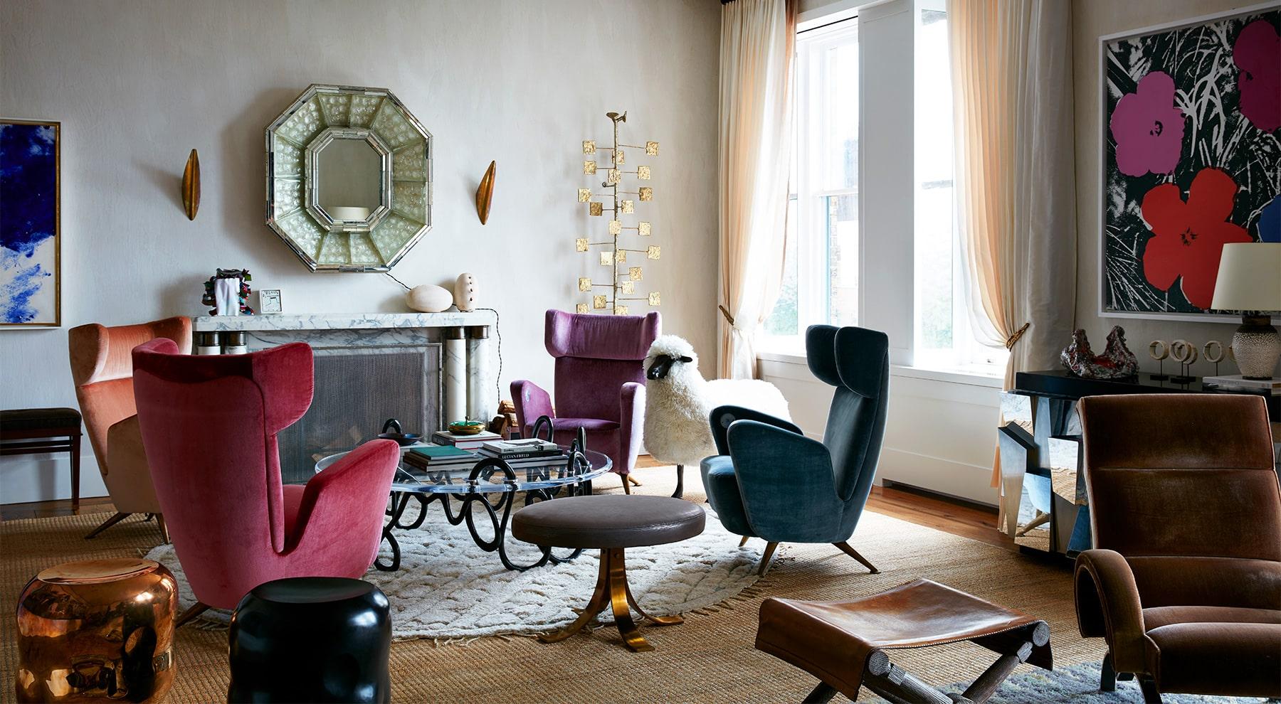 Interior Designer Robert Stilin: Interiors Upper East Side duplex living room