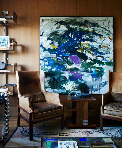 Interior Designer Robert Stilin: Interiors Upper East Side duplex den