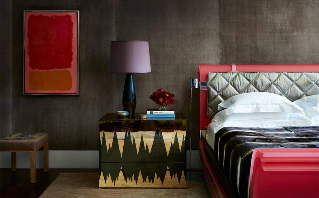 Interior Designer Robert Stilin: Interiors Upper East Side duplex master bedroom